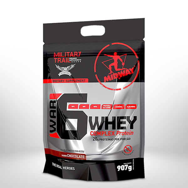 War 6 Protein Complex 907g  Chocolate