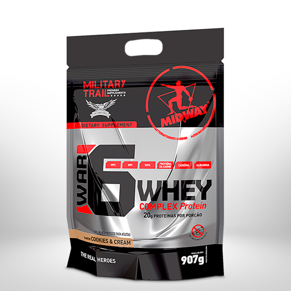 War 6 Protein Complex 907g  Cookies and Cream