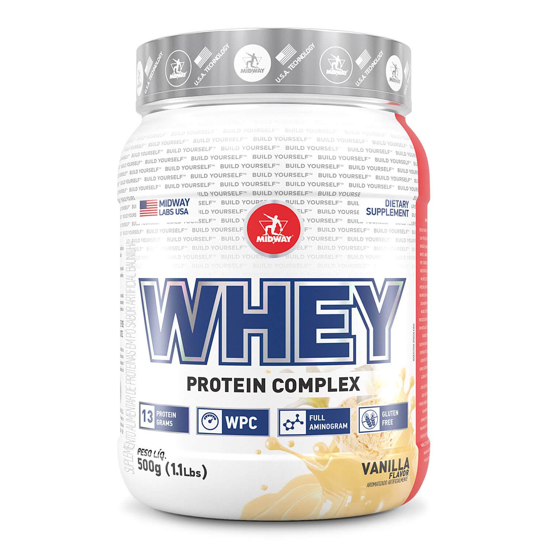 Whey Protein Complex 500 g  Baunilha