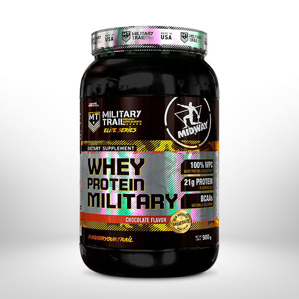 Whey Protein Military 900g  Chocolate