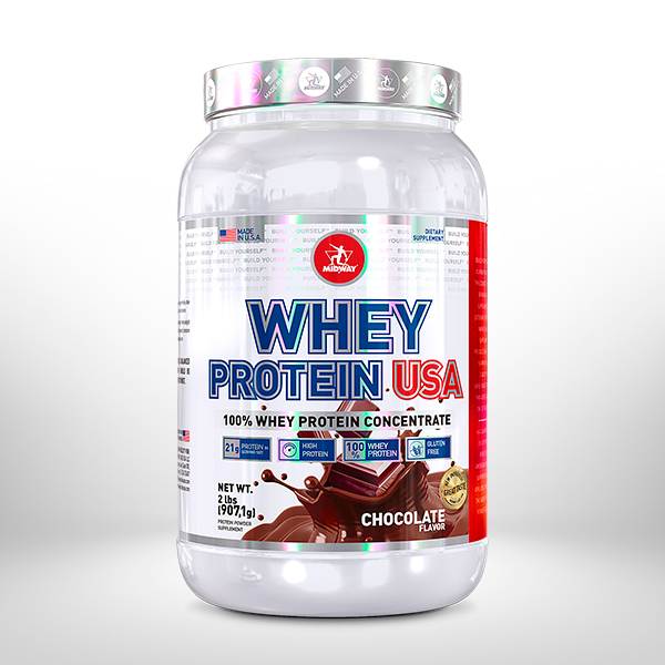 Whey Protein USA 907g  Chocolate